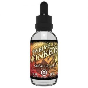 Twelve Monkeys Vapor - Congo Cream - 60ml - 60ml / 3mg