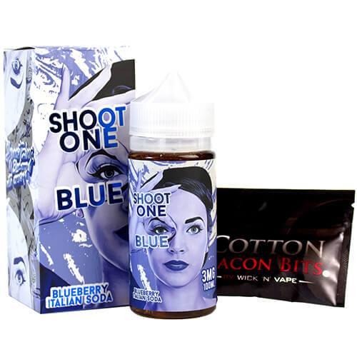 Vape Storm Juice - Shoot One Blue - 100ml / 6mg