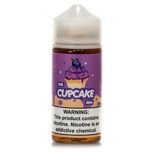 Vaper Treats - The Cupcake Man eJuice - Blueberry - 100ml / 0mg