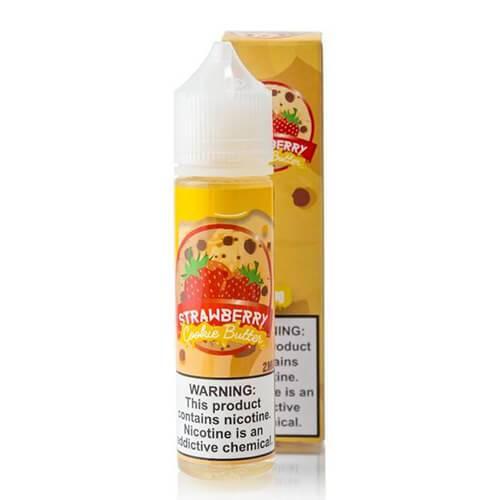 Vaper Treats - Strawberry Cookie Butter E-Juice - 60ml / 2mg