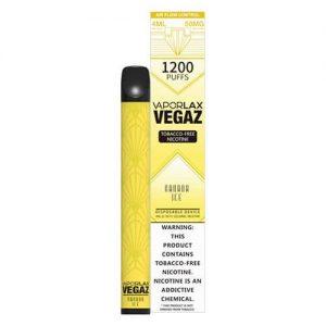 VEGAZ by VaporLAX - Disposable Vape Device - Banana Ice - Single / 50mg