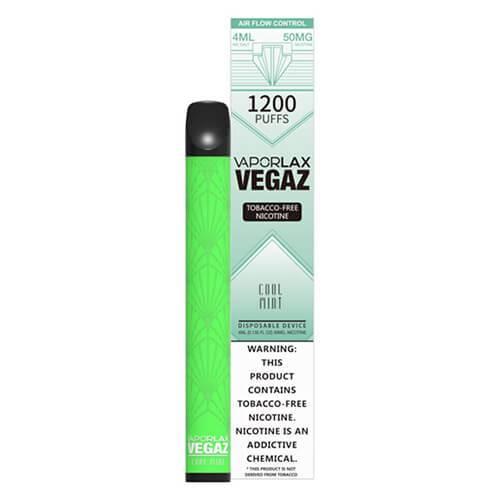 VEGAZ by VaporLAX - Disposable Vape Device - Cool Mint - Single / 50mg