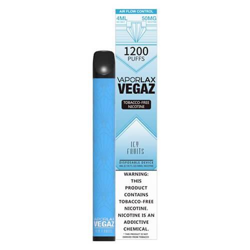 VEGAZ by VaporLAX - Disposable Vape Device - Icy Fruits - Single / 50mg