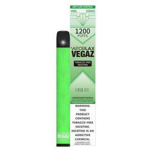 VEGAZ by VaporLAX - Disposable Vape Device - Lush Ice - Single / 50mg