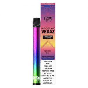 VEGAZ by VaporLAX - Disposable Vape Device - Rainbow Mix - Single / 50mg