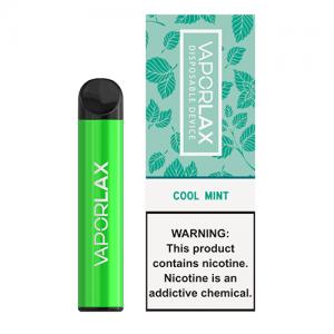 VaporLAX - Disposable Vape Device - Cool Mint - Single / 50mg