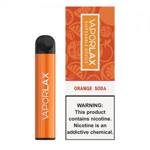 VaporLAX - Disposable Vape Device - Orange Soda - Single / 50mg