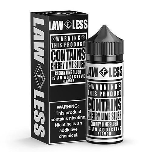 Warning eLiquid - Cherry Lime Slush - 100ml / 0mg