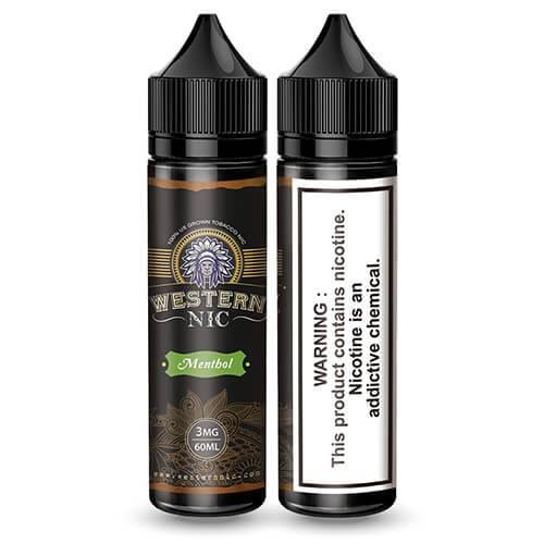 Western Nic eLiquids - Menthol Tobacco - 60ml / 0mg