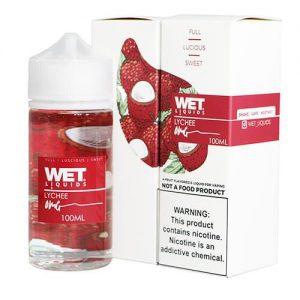 Wet Liquids - Lychee eJuice - 100ml / 0mg