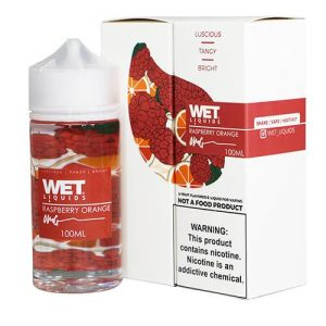 Wet Liquids - Raspberry Orange eJuice - 100ml / 6mg