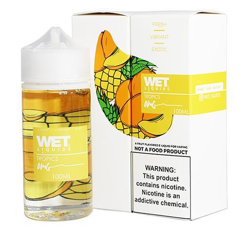 Wet Liquids - Tropics eJuice - 100ml / 6mg