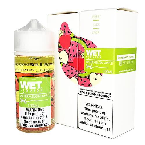 Wet Liquids - Watermelon Apple eJuice - 100ml / 0mg