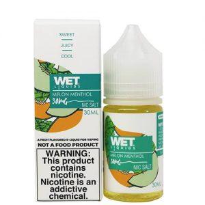 Wet Liquids SALT - Melon Menthol - 30ml / 50mg