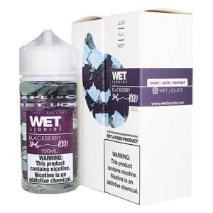 Wet Liquids ICED - Blackberry ICED eJuice - 100ml / 3mg