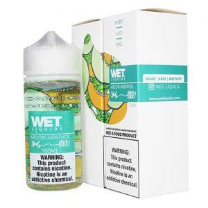 Wet Liquids ICED - Melon Menthol ICED eJuice - 100ml / 6mg