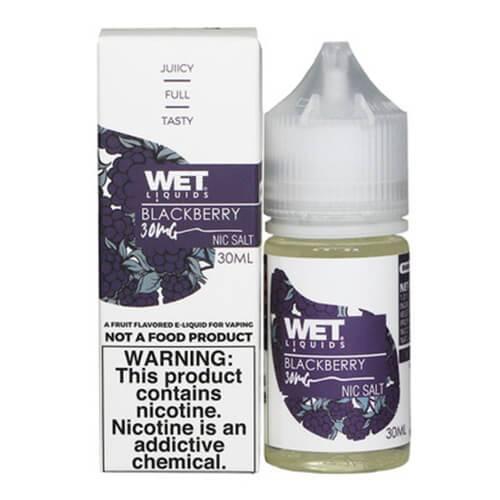 Wet Liquids SALT - Blackberry eJuice - 30ml / 50mg