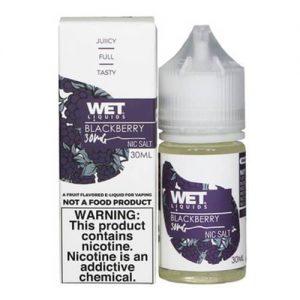 Wet Liquids SALT - Blackberry eJuice - 30ml / 30mg