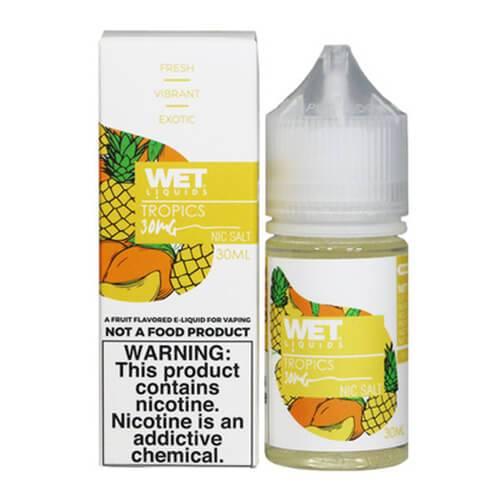 Wet Liquids SALT - Tropics eJuice - 30ml / 50mg