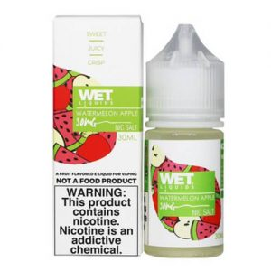 Wet Liquids SALT - Watermelon Apple eJuice - 30ml / 30mg
