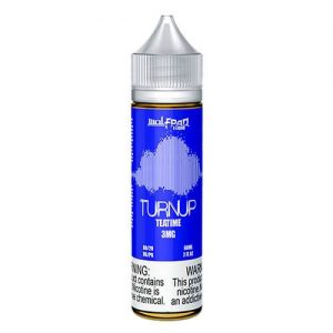Wolfpaq TurnUp E-Liquid - Tea Time - 60ml / 3mg