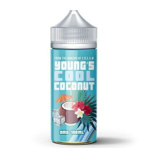 Young's Coconut eLiquid - Young's Cool Coconut - 100ml / 3mg
