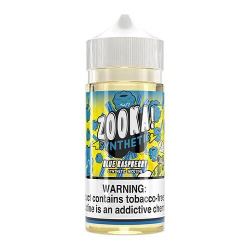 Zooka Synthetic - Blue Raspberry eJuice - 100ml / 3mg
