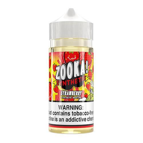 Zooka Synthetic - Strawberry eJuice - 100ml / 6mg