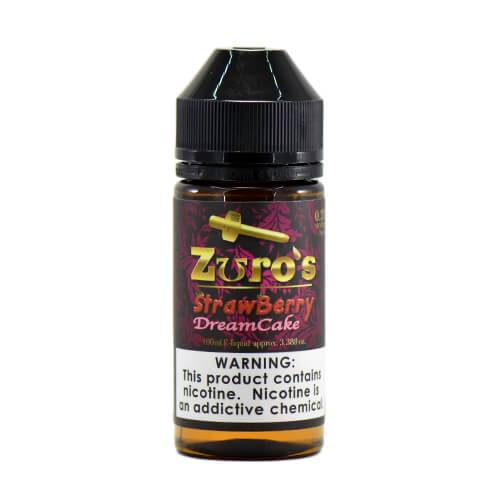 Zuro's MFG Premium eLiquids - Zuro's Strawberry Dream Cake - 100ml / 3mg