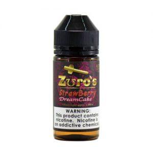 Zuro's MFG Premium eLiquids - Zuro's Strawberry Dream Cake - 100ml / 0mg