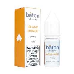 Island Mango Nic Salts By Baton Vapor - 10 mL