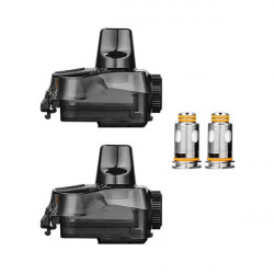 GeekVape Aegis Boost Plus Replacement Pods with Coils - (2 Pack)