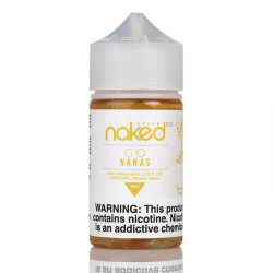 Bananas by Naked 100 Cream E-liquid (60mL)