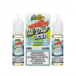 Melon Patch Iced By Hi Drip Salts - (2 Pack)