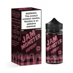 Jam Monster Raspberry E-liquid (100mL)