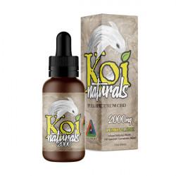KOI Naturals CBD Tinctures Lemon-Lime