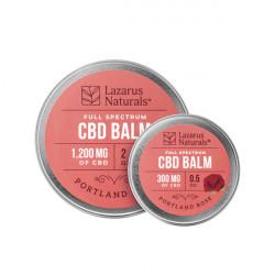 Lazarus Naturals Full Spectrum CBD Portland Rose Balm - 0.5oz