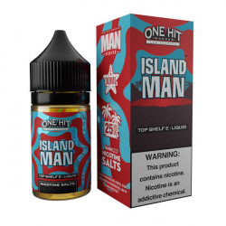 Island Man Nic Salt by One Hit Wonder - (30mL)