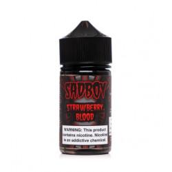 Strawberry Blood E-liquid by Sadboy (60mL)
