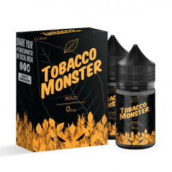 Bold Tobacco E-liquid By Tobacco Monster 30 mL