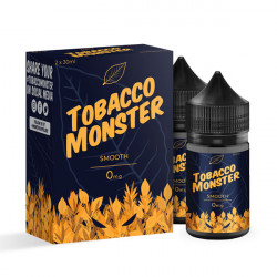 Smooth Tobacco E-liquid By Tobacco Monster 30 mL