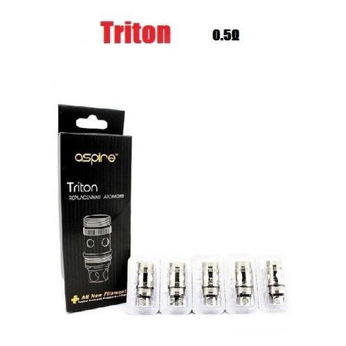 Aspire Triton Coils - 0.5 ohm Clapton (40-45W)