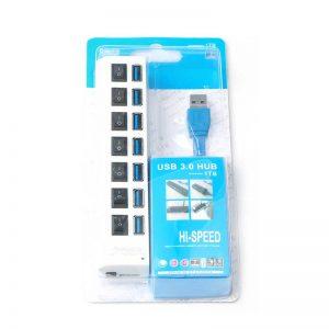 USB 3.0 Hub 7 Port High Super Speed Adapter