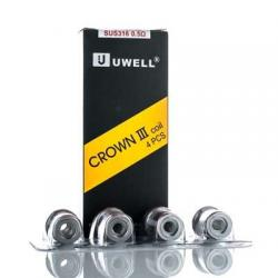 Uwell Crown 3 III Replacement Coils (4-Pack)