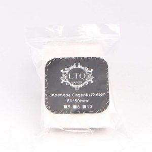 LTQ Vapor Japanese Organic Cotton - 8pcs/pack